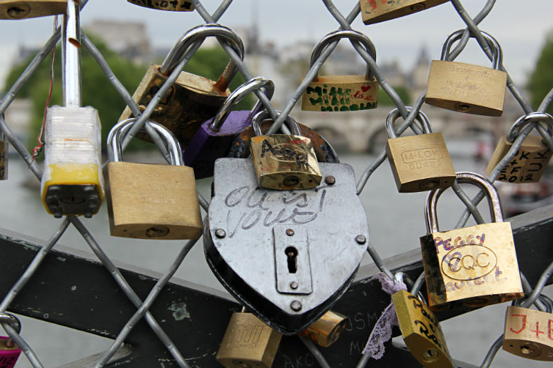 Paris Locks of Love Bridge TMcCoy photography