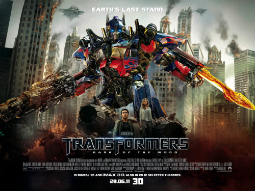 Transformers Dark Moon film 3D full