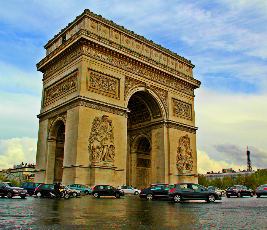Arc de Triomphe TMcCoy Design Photography