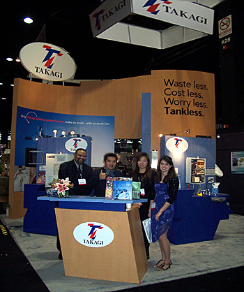 material selection, logo placements, pedestal shapes... tradeshow booth design