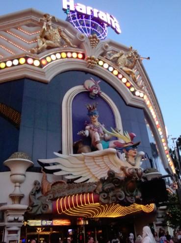 Harrahs Las Vegas casino entrance