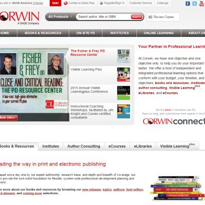 Website: Corwin Press