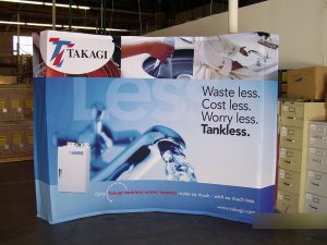 popup tradeshow booth design